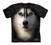 Siberian Husky Face - Koszulka Dziecięca
