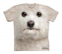 Bichon Frise Face - The Mountain - Koszulka Dziecięca