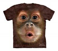 Big Face Baby Orangutan - The Mountain - Koszulka  Dziecięca