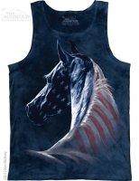 Patriotic Horse - Bezrękawnik The Mountain