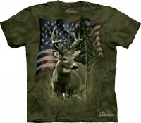 Deer Flag - Koszulka The Mountain