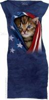 Patriotic Kitten - Sukienka The Mountain