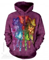 Rainbow Butterfly Dreamcatcher - Bluza The Mountain