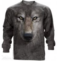 Wolf Face - Long Sleeve The Mountain