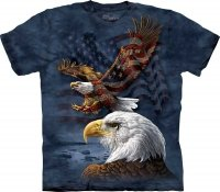 Eagle Flag Collage - The Mountain