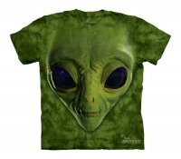 Green Alien Face - The Mountain - Koszulka  Dziecięca