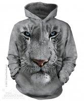 White Tiger Face - Bluza The Mountain