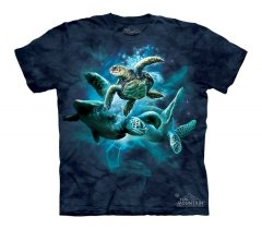 Sea Turtle Collage - Dziecięca - The Mountain