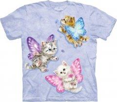 Butterfly Kitten Fairies - Koszulka The Mountain