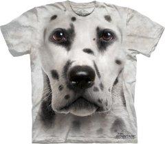 Dalmatian Face Dalmatyńczyk - Koszulka The Mountain
