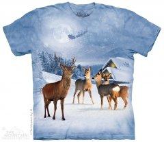 Deer in Winter - The Mountain