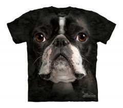 Boston Terrier Face - The Mountain - Koszulka Dziecięca