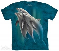 Three Dolphins - T-Shirt The Mountain