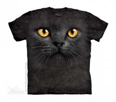 Big Face Black Cat - Czarny Kot - The Mountain - Dziecięca