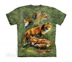Red Fox Collage - Dziecięca - The Mountain