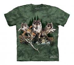 Find 12 Wolves - The Mountain - Koszulka Dziecięca