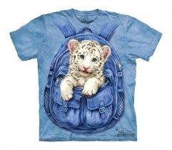 Backpack White Tige - The Mountain - Koszulka Dziecięca