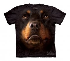 Rottweiler Face - The Mountain - Koszulka Dziecięca