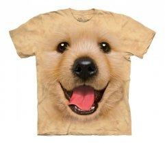 Big Face Golden Retriever Puppy - The Mountain - Koszulka Dziecięca