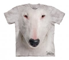 Bull Terrier Face - The Mountain - Koszulka Dziecięca