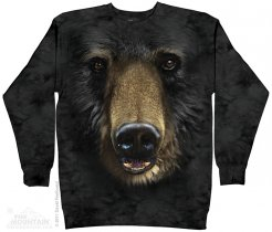 Black Bear Face - Bluza The Mountain
