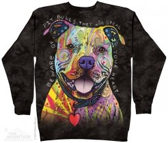 Beware Of The Pit Bulls - Bluza The Mountain