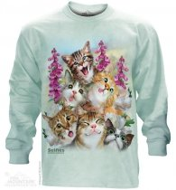 Kittens Selfie - Long Sleeve The Mountain