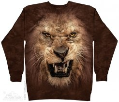 Big Face Roaring Lion - Bluza The Mountain