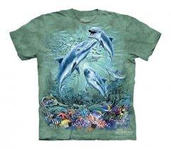 Find 12 Dolphins - The Mountain - Koszulka Dziecięca