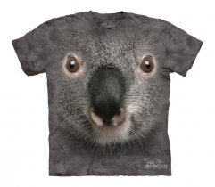 Gray Koala Face - The Mountain - Koszulka Dziecięca