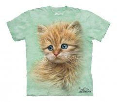Kitten Portrait - The Mountain - Koszulka Dziecięca