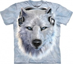 White Wolf DJ  - Koszulka The Mountain