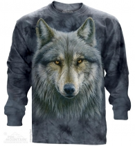 Warrior Wolf - Long Sleeve The Mountain