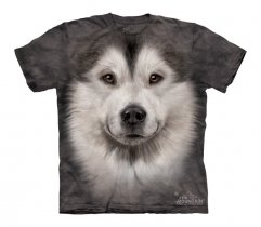 Alaskan Malamute Face - The Mountain - Koszulka Dziecięca