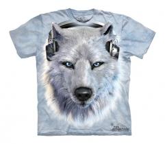 White Wolf DJ - The Mountain - Koszulka Dziecięca