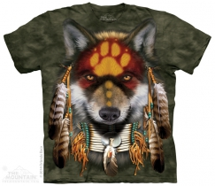 Native Wolf Spirit - The Mountain