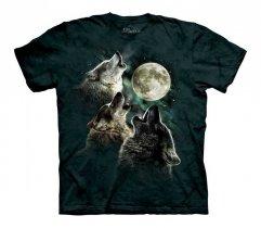 Three Wolf Moon Glow - The Mountain - Junior