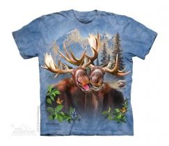 Moose Selfie -Dziecięca The Mountain