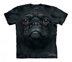 Black Pug Face - The Mountain - Koszulka Dziecięca