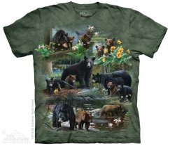 Bear Collage - The Mountain