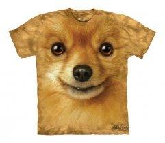 Pomeranian Face - The Mountain - Koszulka Dziecięca
