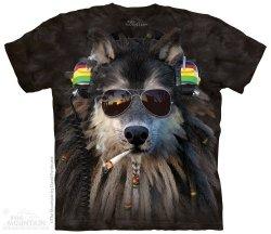 Smoking Rasta Wolf - The Mountain