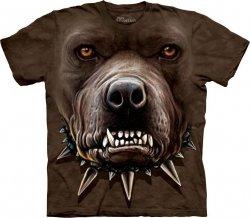 Angry Pitbull Face - Koszulka The Mountain