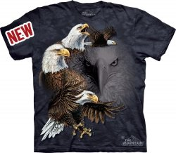 Find 10 Eagles - Koszulka The Mountain