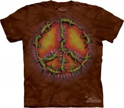 Gecko Peace Dye - The Mountain