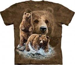Find 10 Brown Bears - Koszulka The Mountain