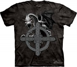 Celtic Cross Dragon - The Mountain