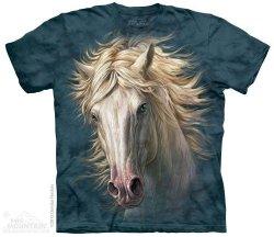 White Horse Portrait - The Mountain