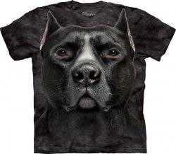 Black Pitbull Head - Koszulka The Mountain
