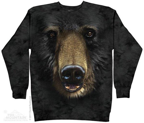 Black Bear Face - Bluza The Mountain